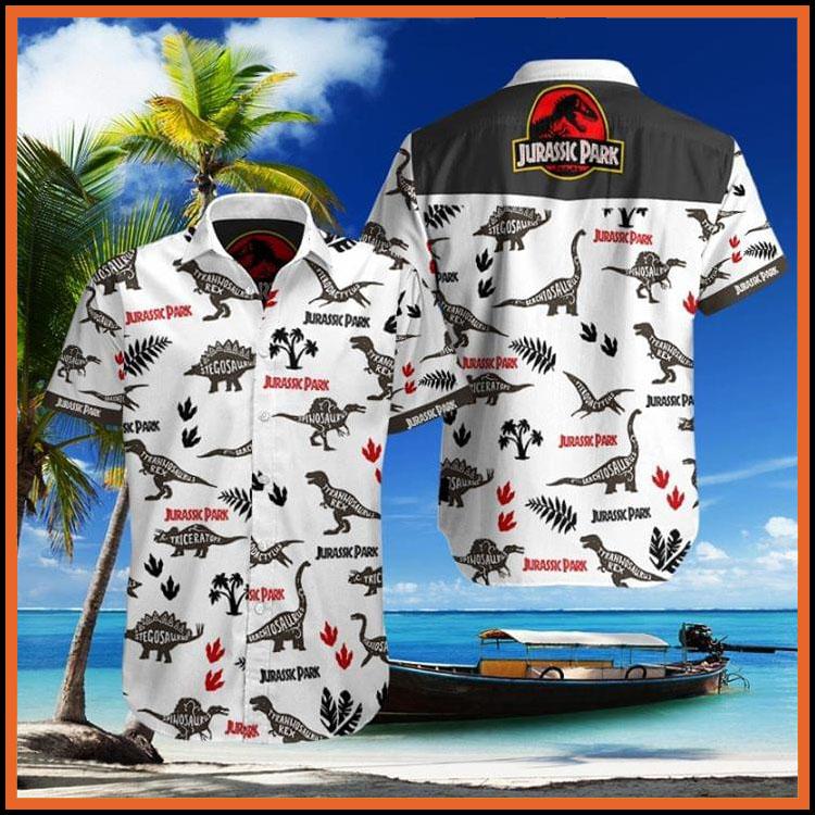 Jurassic park hawaiian shirt7