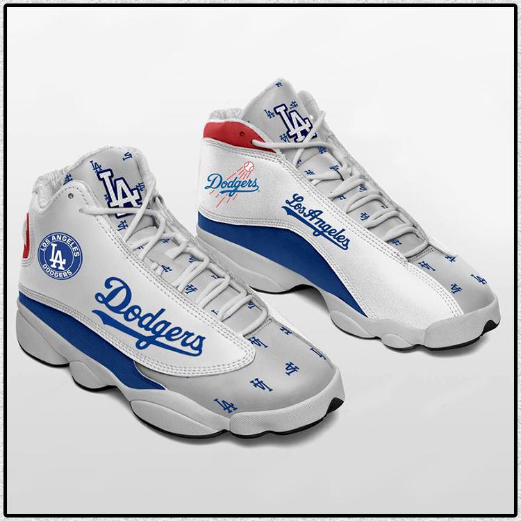 LA Dodgers Team Air Jordan 13 Baseball Team sneaker1