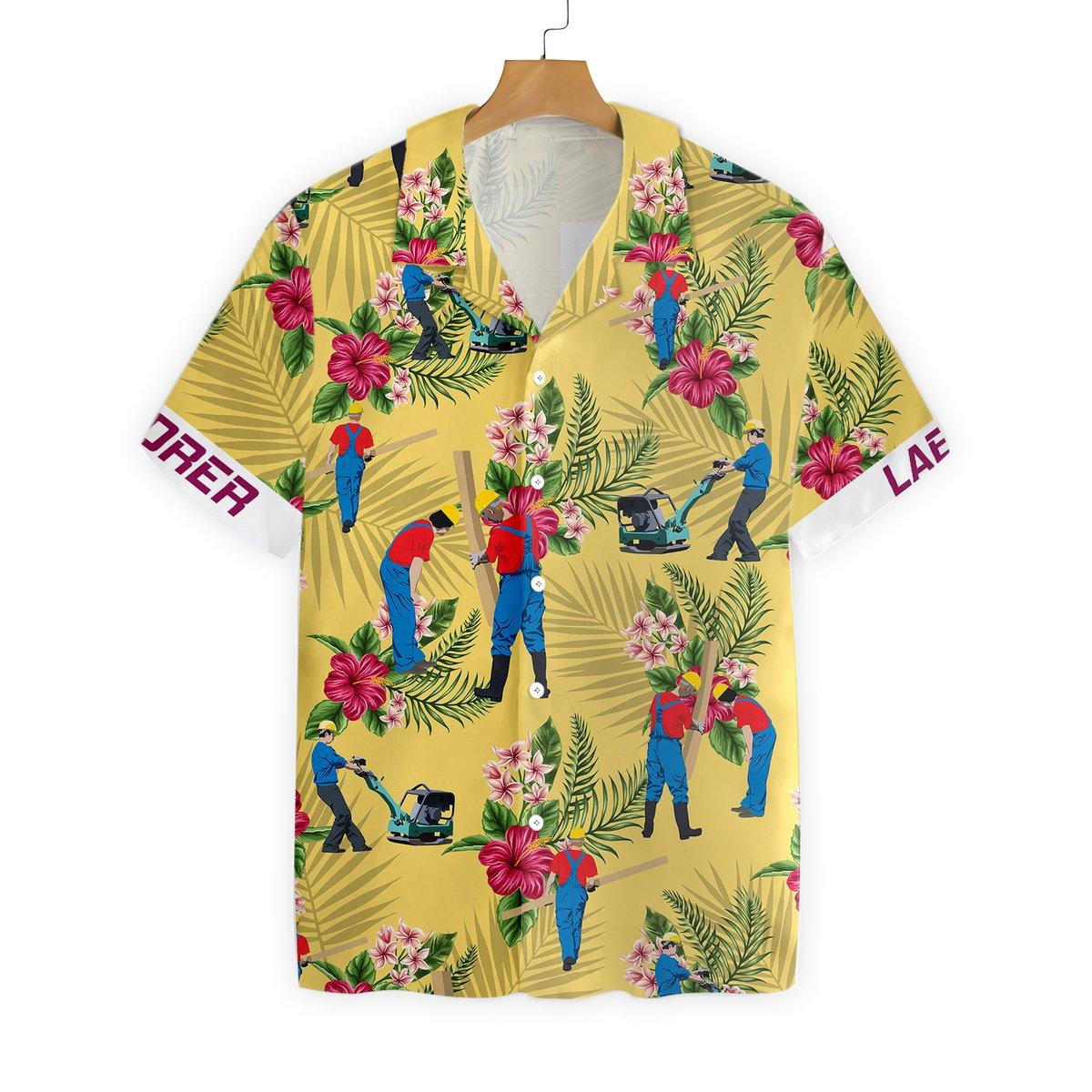 Laborer Hawaiian Shirt5