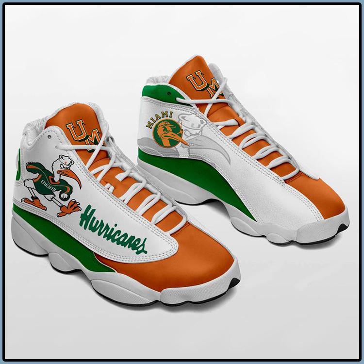 Miami Hurricanes Air Jordan 13 sneaker Football sneaker4