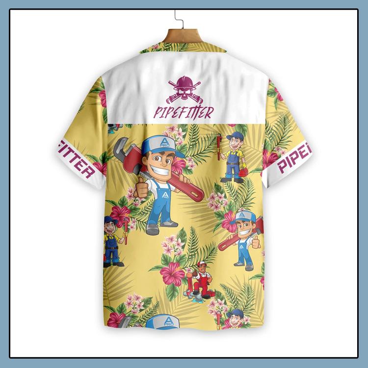 Pipefitter Hawaiian Shirt2