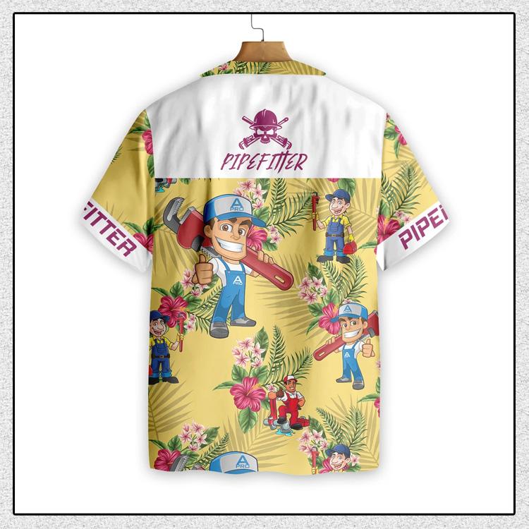 Pipefitter Hawaiian Shirt3