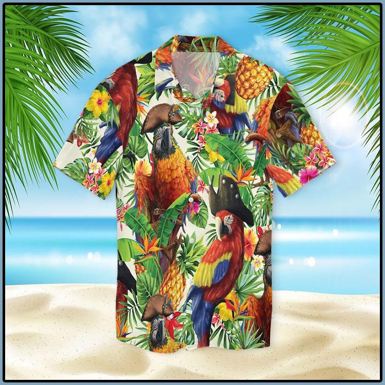 Pirate Parrot Hawaiian Shirt6