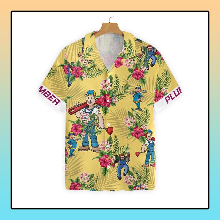 Plumber Hawaiian Shirt4