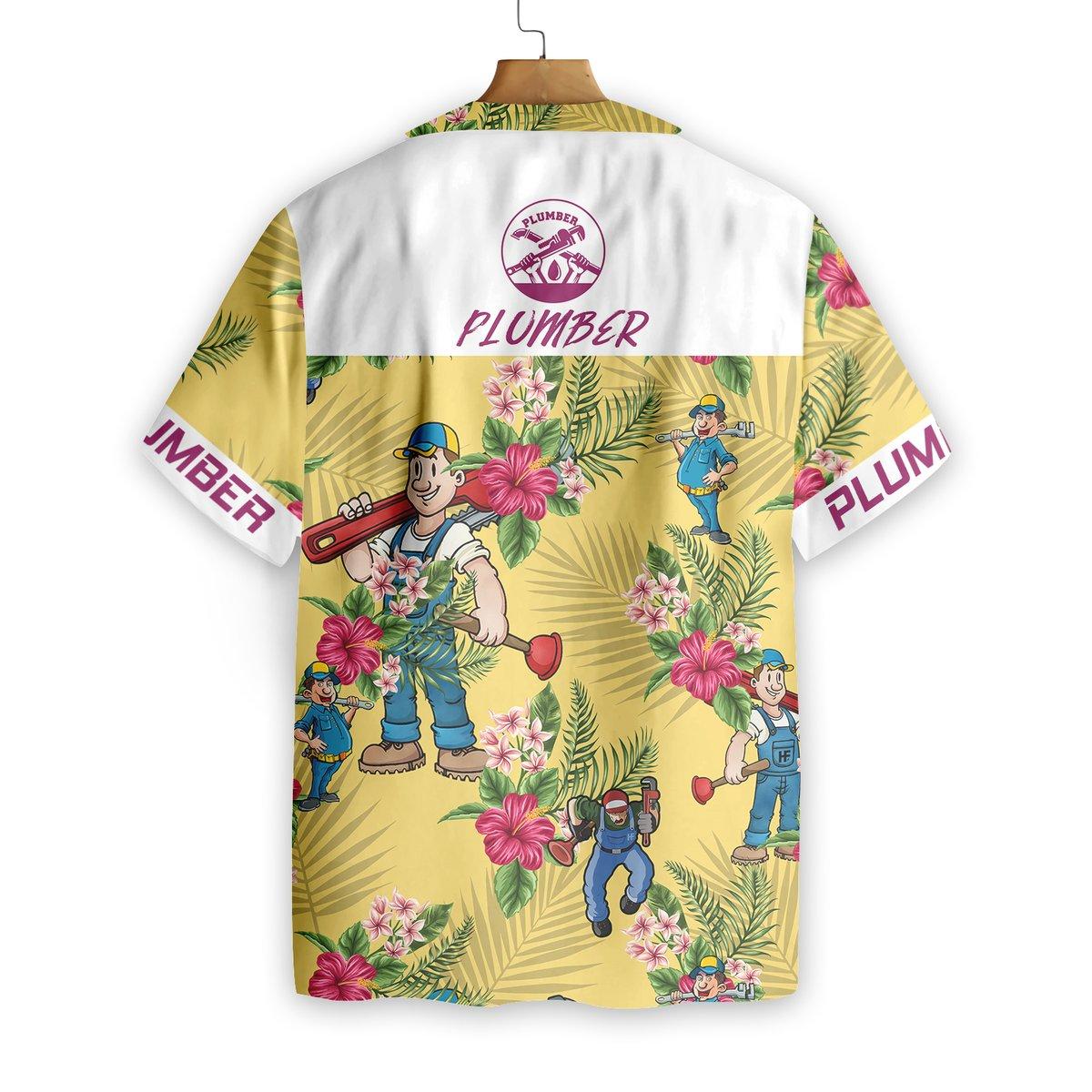 Plumber Hawaiian Shirt5