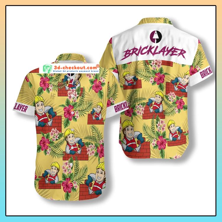 Proud Bricklayer Hawaiian Shirt1
