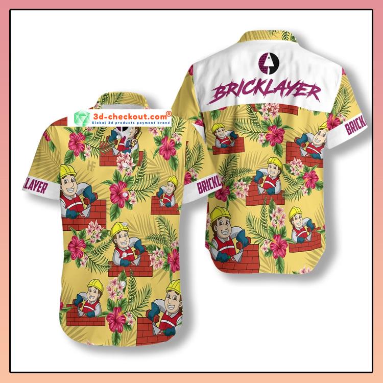 Proud Bricklayer Hawaiian Shirt2