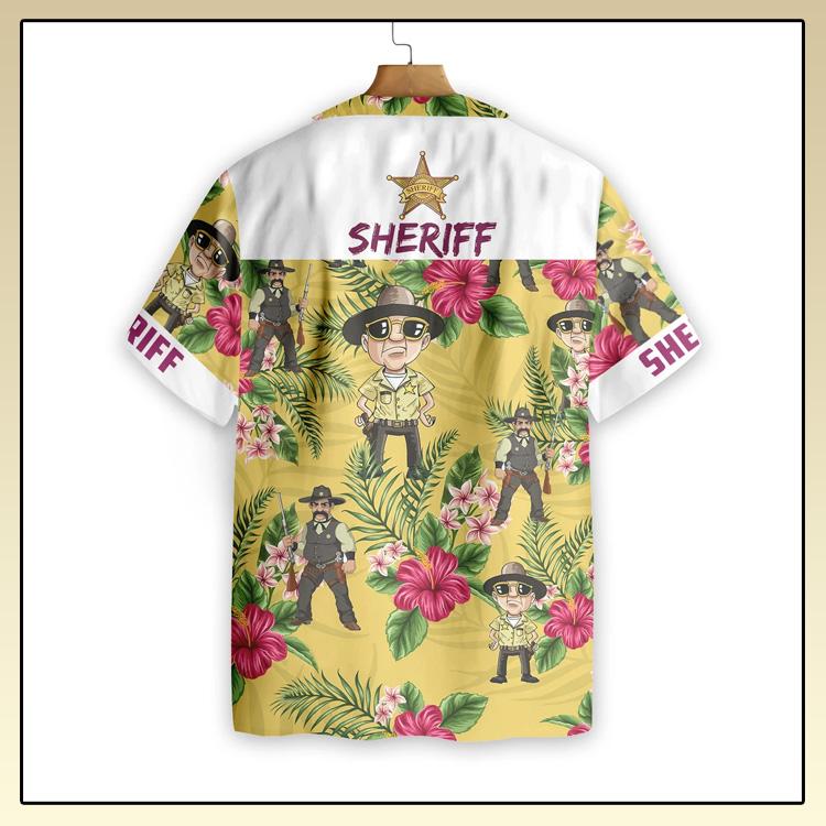 Proud Sheriff Hawaiian Shirt3