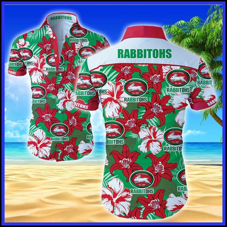 Rabbitohs hawaiian shirt3