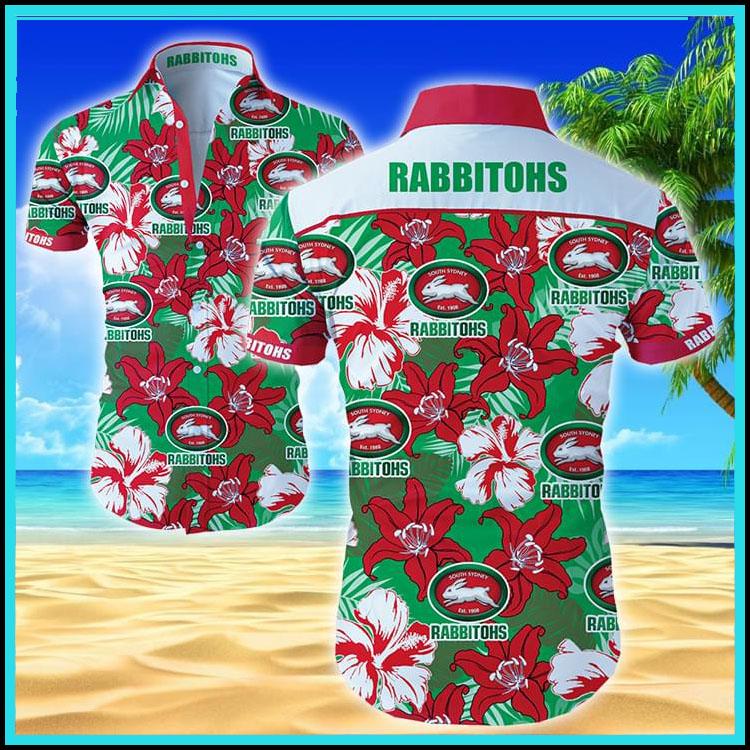 Rabbitohs hawaiian shirt4