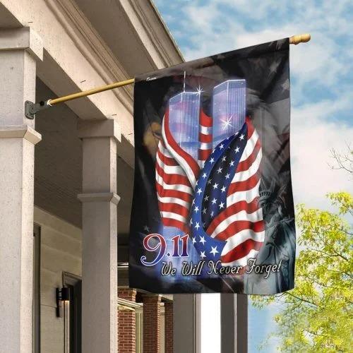 September 11th Never Forget Flag 1