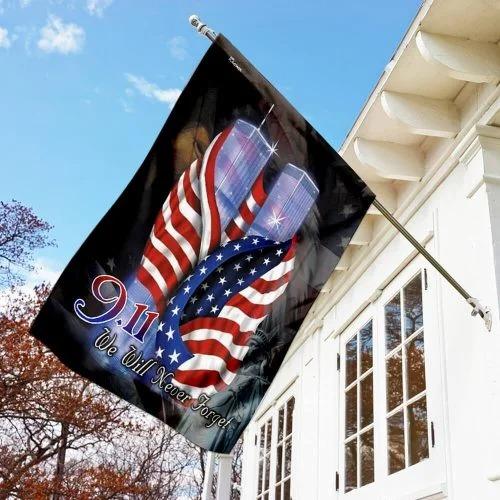 September 11th Never Forget Flag1 1