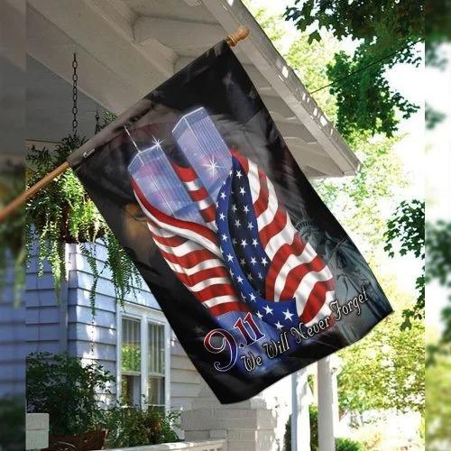 September 11th Never Forget Flag2 1