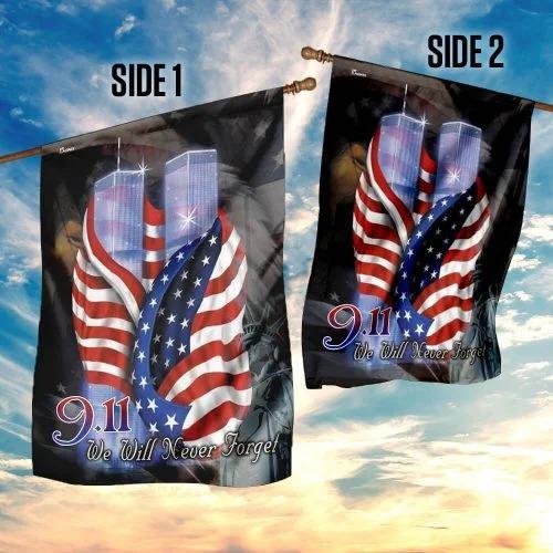 September 11th Never Forget Flag4 1