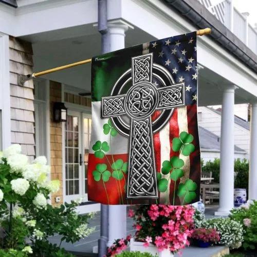 The Irish Celtic Cross Flag 1