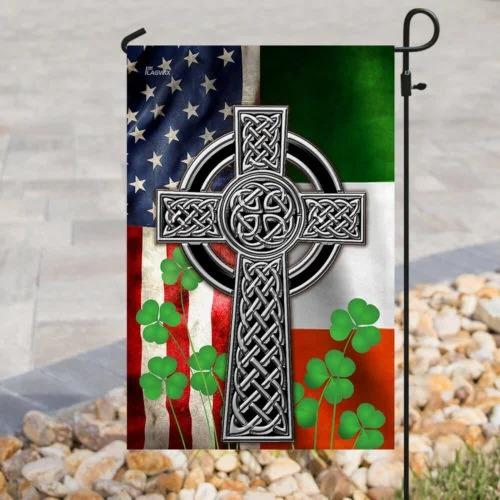 The Irish Celtic Cross Flag1 1