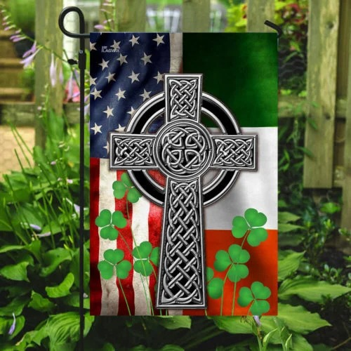 The Irish Celtic Cross Flag2 1
