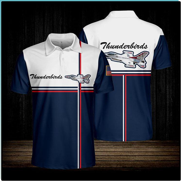 Thunderbirds Usaf Polo shirt1