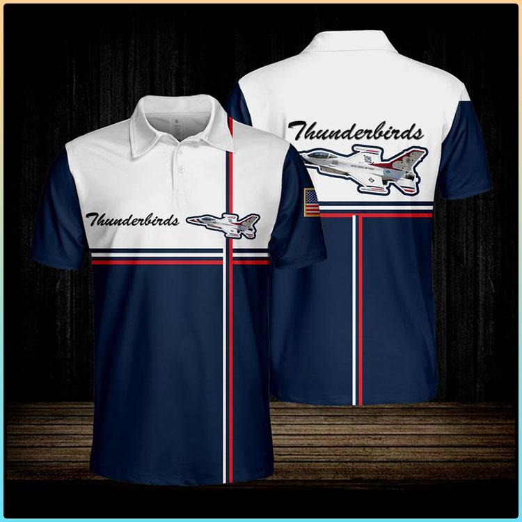 Thunderbirds Usaf Polo shirt2