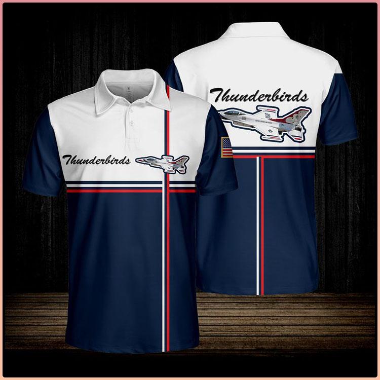 Thunderbirds Usaf Polo shirt3