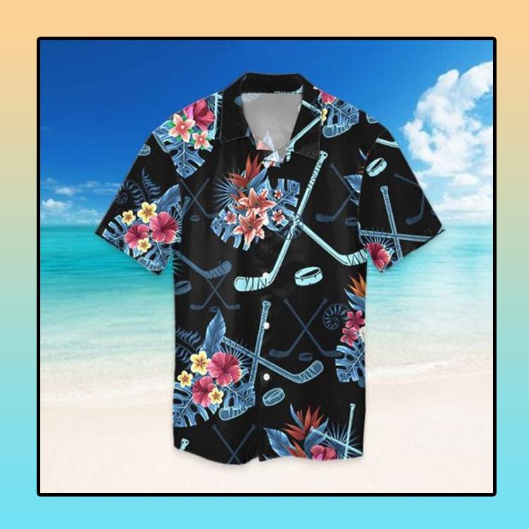 Tropical hockey hawaiian shirt1 1