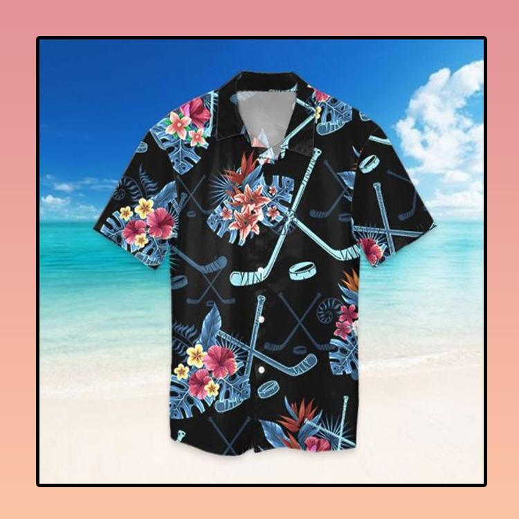 Tropical hockey hawaiian shirt2 1