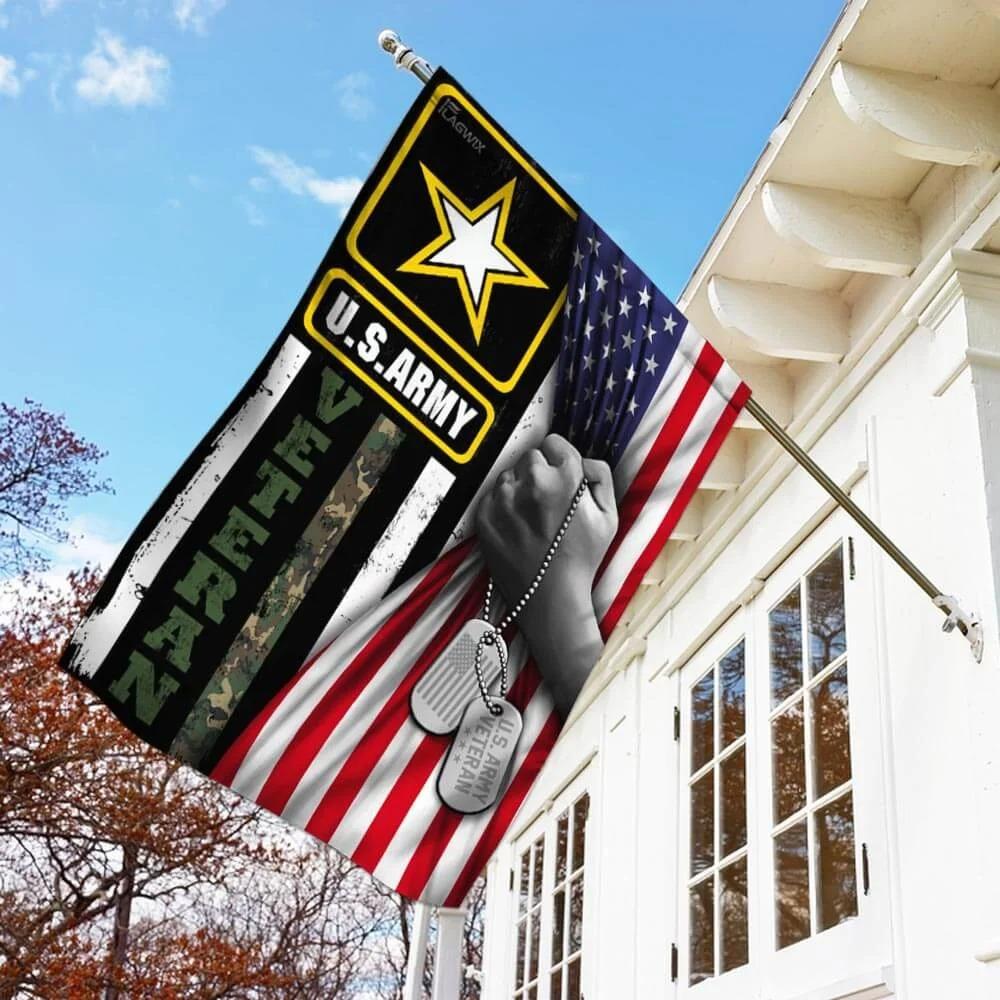 United States Army Veteran FlagA