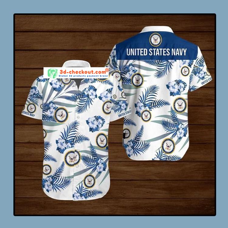 United States Navy Hawaiian Shirt 3