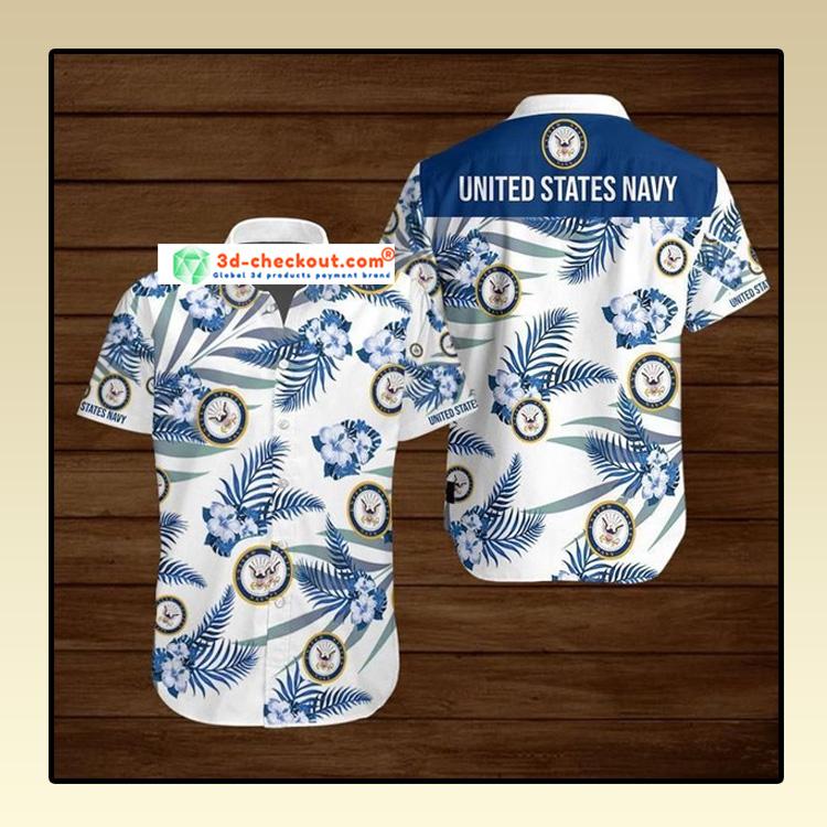 United States Navy Hawaiian Shirt 4