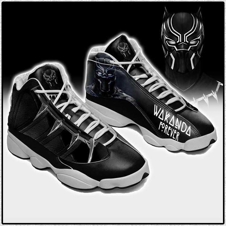 Wakanda Forever Black Panther Air Jordan 13 sneaker5