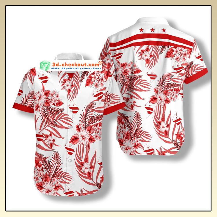 Washington DC Proud Hawaiian Shirt2