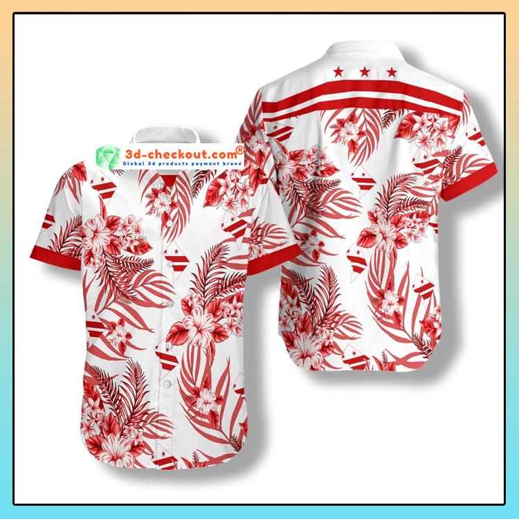 Washington DC Proud Hawaiian Shirt3