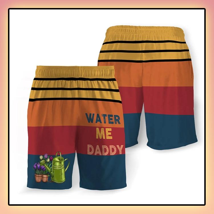 Water Me Daddy Beach Short