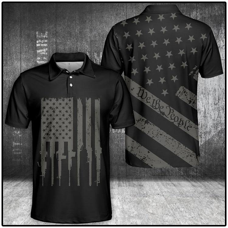 We The People U.S Flag Polo Shirt1