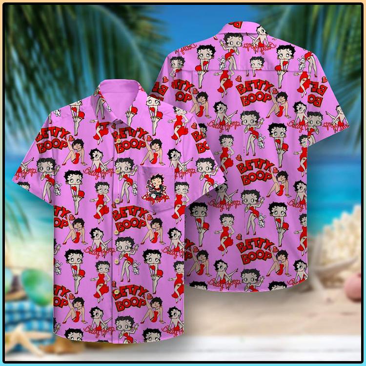 Betty Boop Hawaiian Shirt2