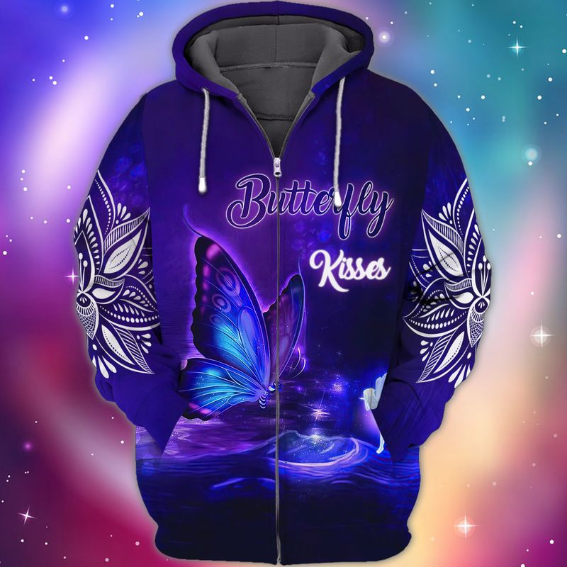 Butterfly Kisses 3D Hoodie