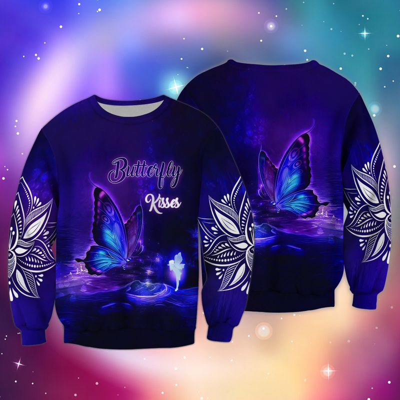 Butterfly Kisses 3D Hoodie SWS