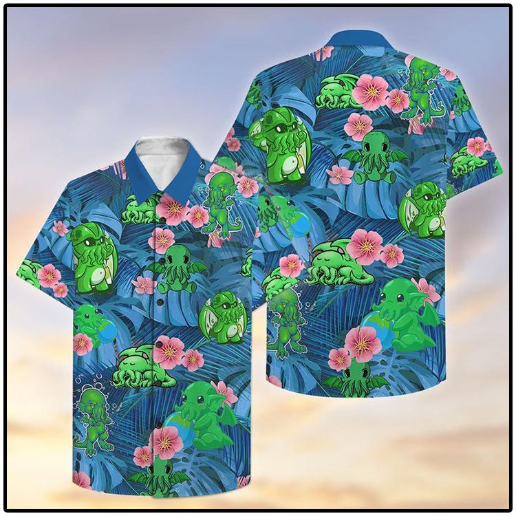 Chthulu Hawaiian Shirt1