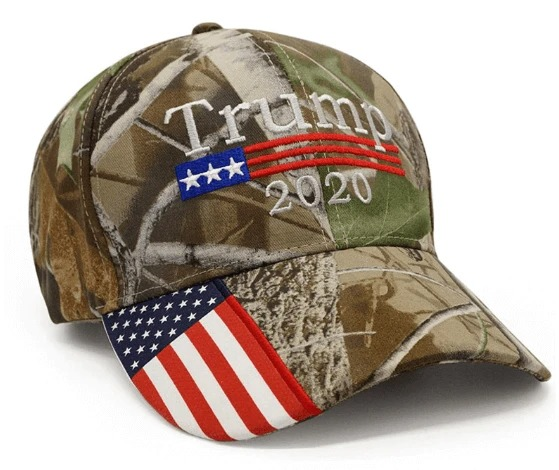 Donald Trump 2020 Hat Camo American Flag Embroidered Mossy Oak cap2 1
