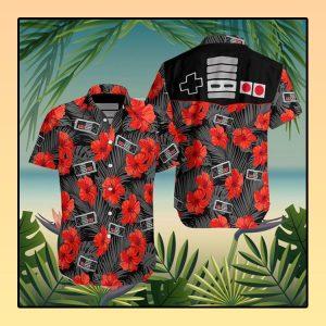 Game Console hawaiian shirt