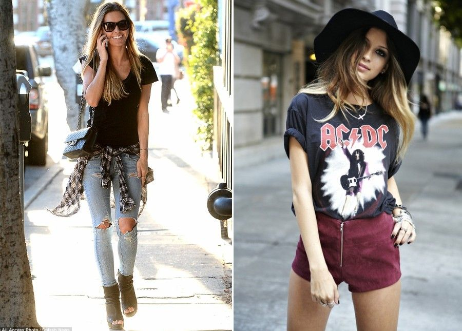 Top Street Style Trends: 14 Unbelievable Rock Chic Looks To Inspire You    Hipster outfits, Top street style, Street style trends