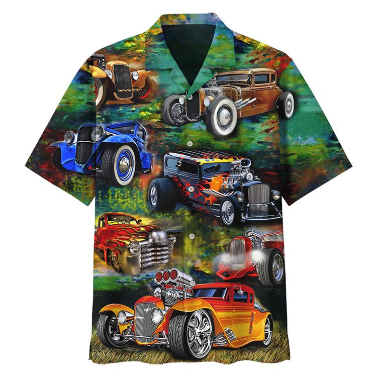 Hot Rod Hawaiian Shirt1
