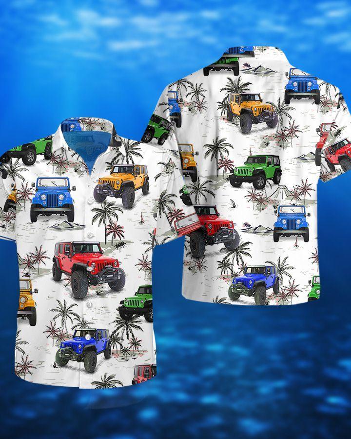 Jeep Ocean CJ Hawaiian Shirt and Short3