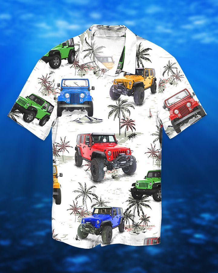 Jeep Ocean CJ Hawaiian Shirt and Short1