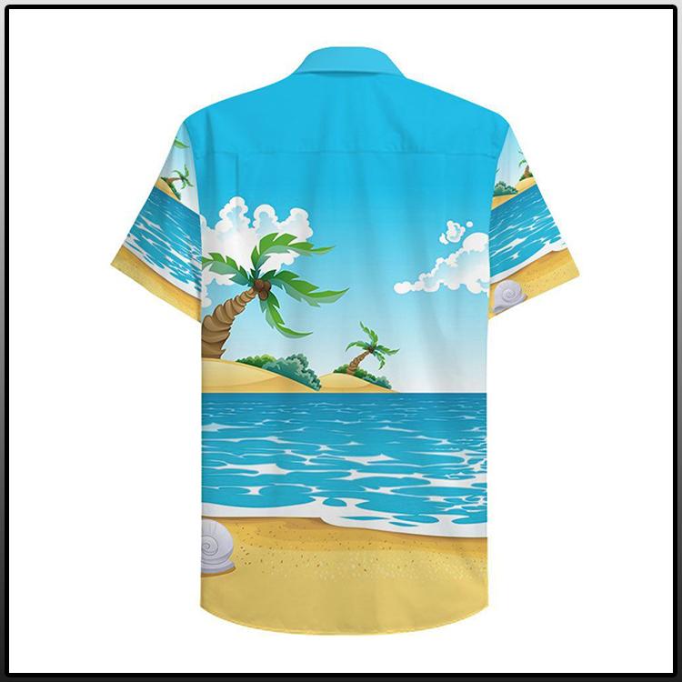Jesus Surfing Hawaiian Shirt3