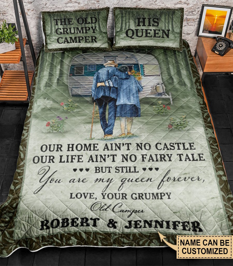 Our Home Aint No Castle Our Life Aint No Fairy Tale Custom Personalized BeddingB