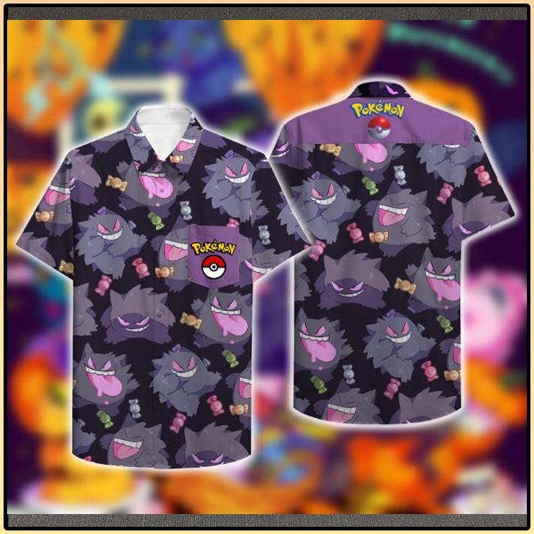 Pokemon Genger Hawaiian Shirt5