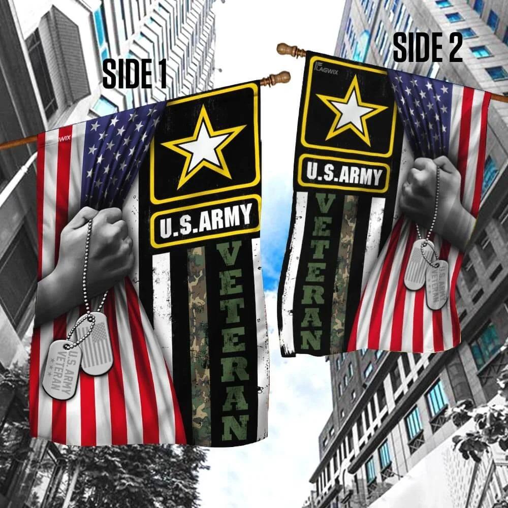 United States Army Veteran FlagB1