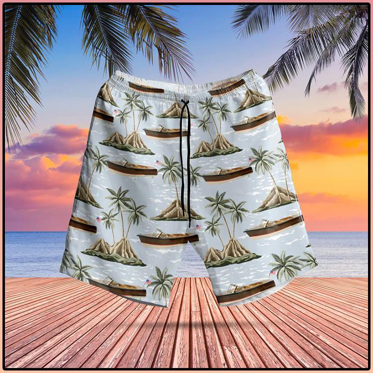 US Chris Craft Boats Hawaiian Shirt And Short2