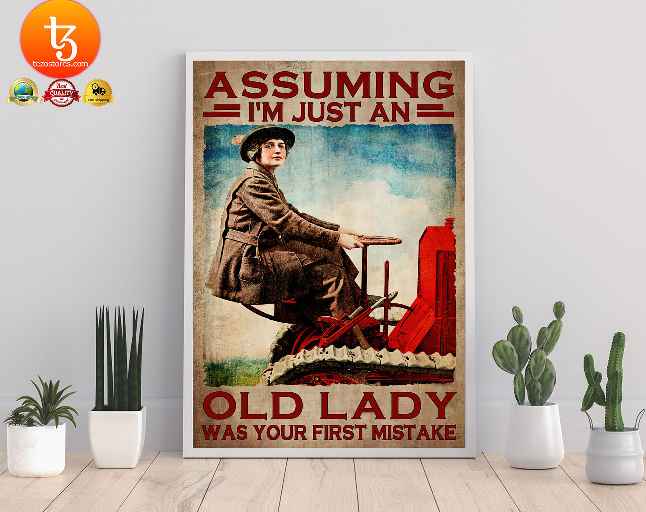 Assuming Im just an old lady was your first mistake poster2